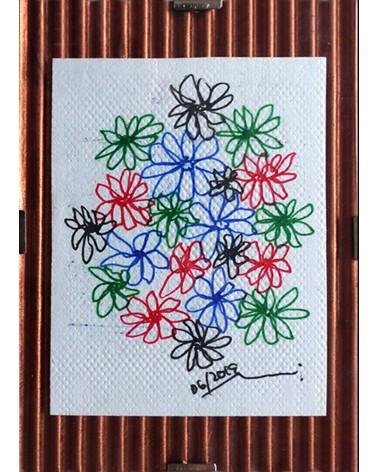 Dibujo floral Pseudoplatanus