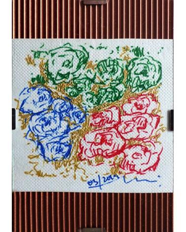 Dibujo floral Ailanthus