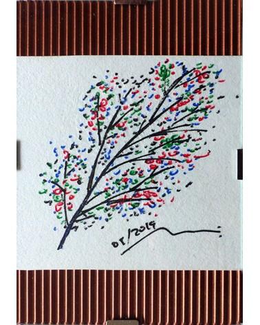 Dibujo floral Negundo