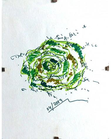 Pintura floral Elastica