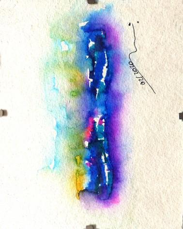 Pintura abstracta Robusta