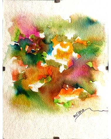Pintura abstracta Officinalis