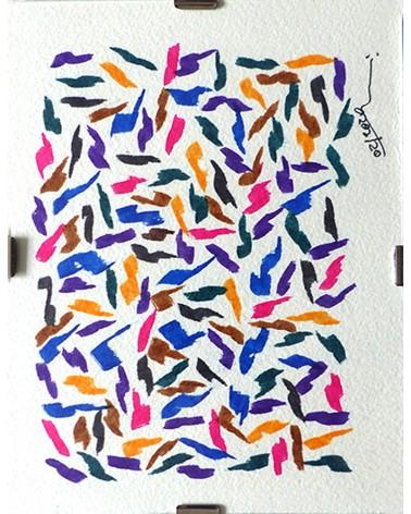 Pintura abstracta Altissima