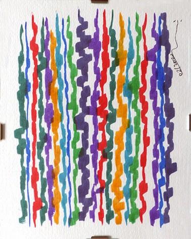 Pintura abstracta Tremula
