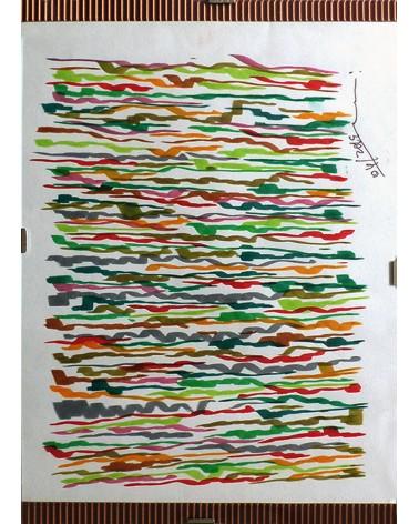 Pintura abstracta Glutinosa