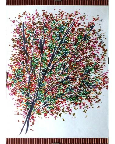 Pintura floral Equisetifolia