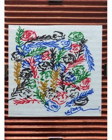 Dibujo floral Dealbata